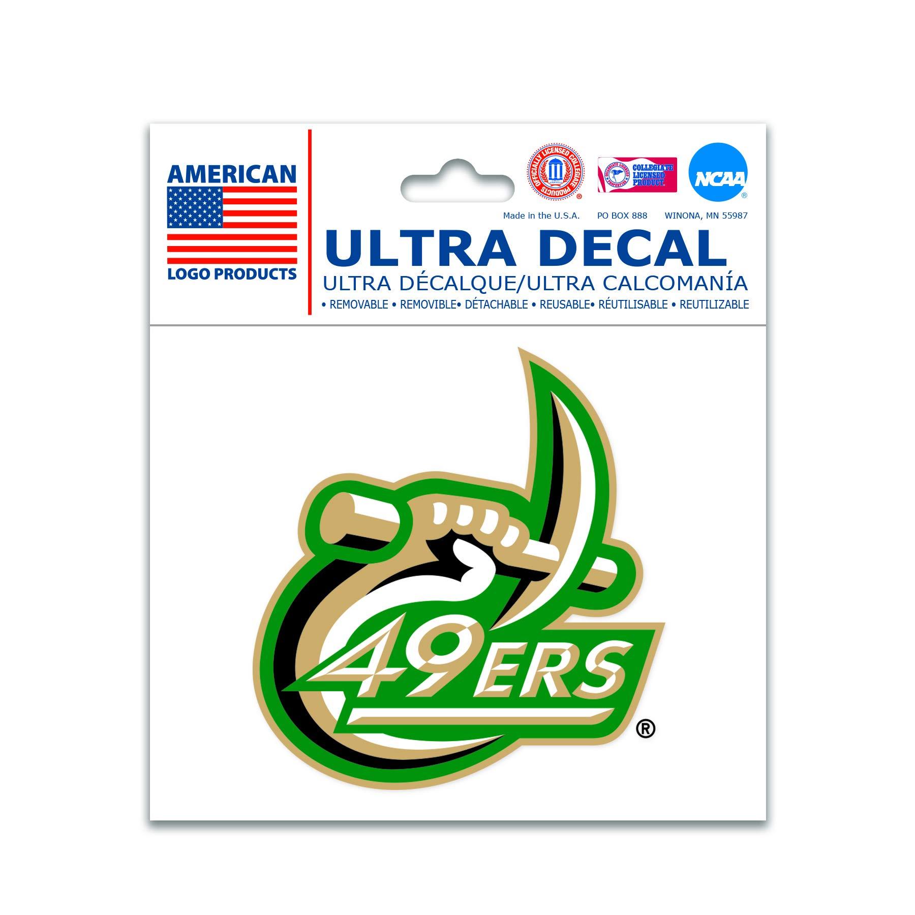 Wincraft NCAA Multi-Use Decal (3''x4'') (UNC Charlotte)