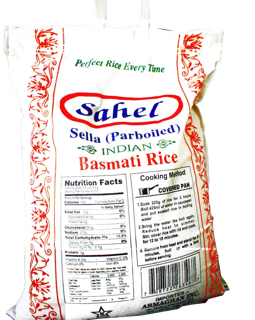 Amazon com : SAHEL BASMATI RICE, 10 Pounds : Grocery & Gourmet Food