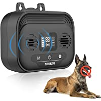 Anti Barking Device with LED Screen, Adjustable Ultrasonic Level Dog Bark Deterrent Outdoor Dogs Device Ultrasound…