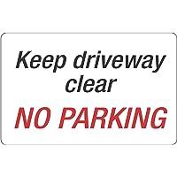 HEADLINE P9309 Keep Driveway Clear NO Parking Sign,HEADLINE203 X 350MM