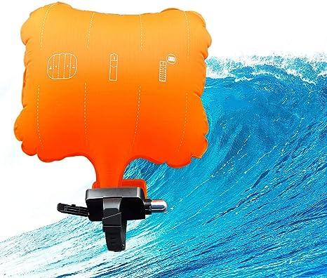 Ohne Gasflaschen Breeezie Anti-Ertrinkungs-Armband Rettungsger/ät Schwimmendes Armband Tragbare Schwimmen Sicherer Notfall Wassersport-Hilfe Lebensrettend f/ür Erwachsene