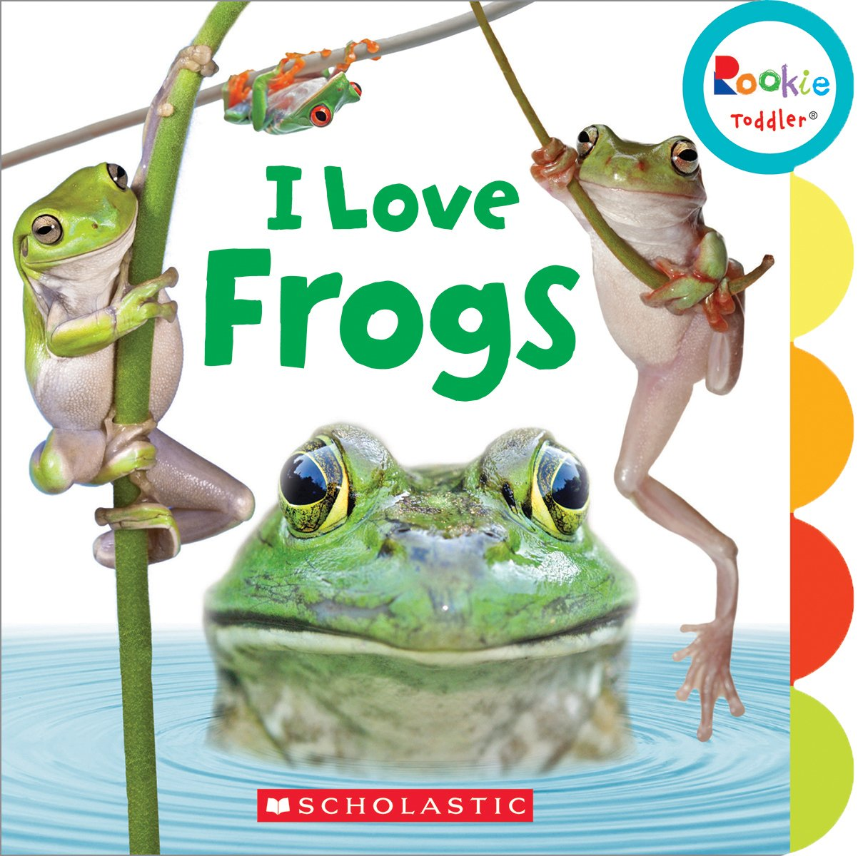 Download I Love Frogs (Rookie Toddler) pdf