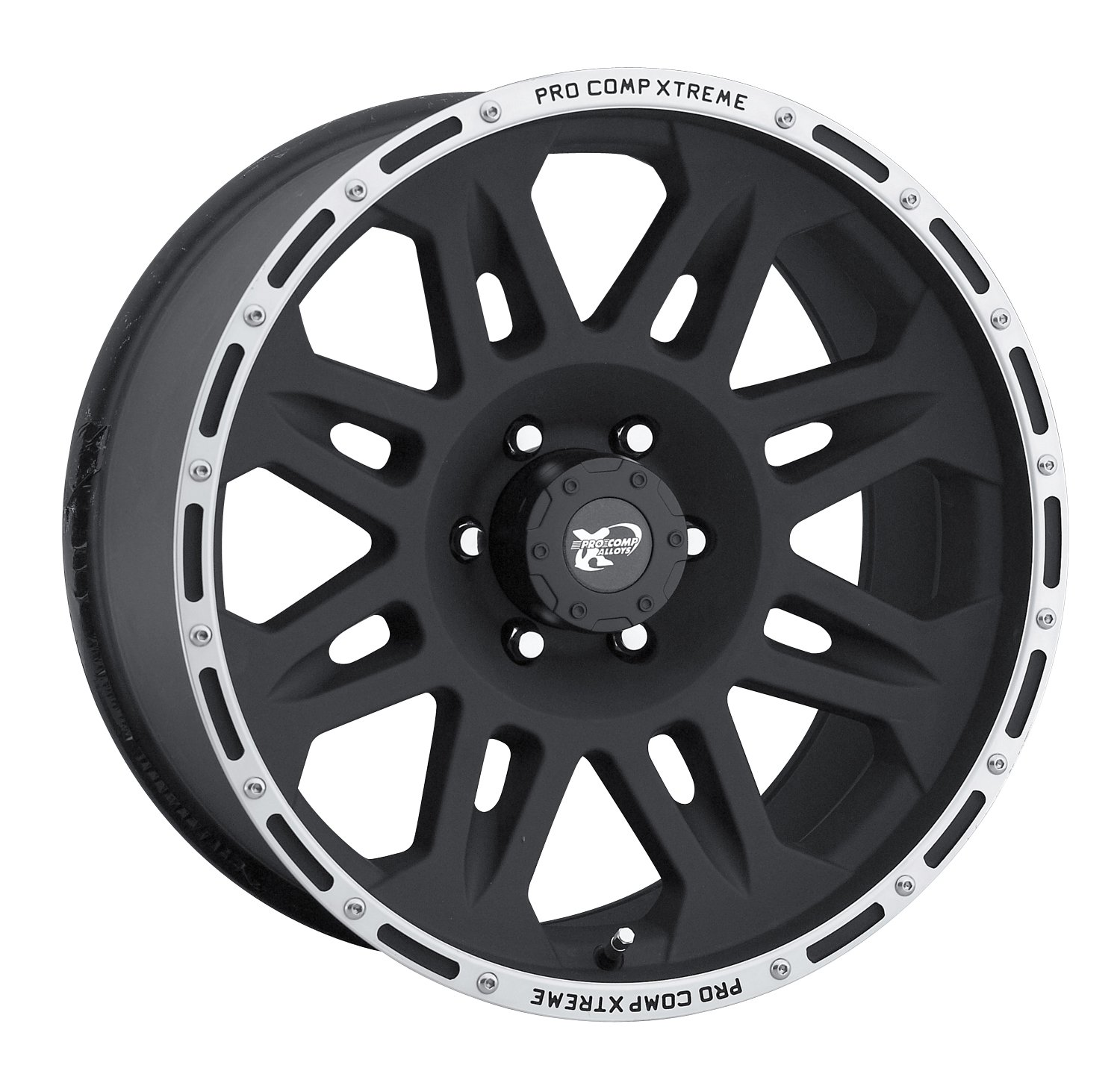 Pro Comp Alloys Series 05 Flat Black Wheel with Machined Flange (17x9''/5x127mm)