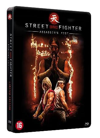 Amazon Com Street Fighter Assassin S Fist Blu Ray Steelbook