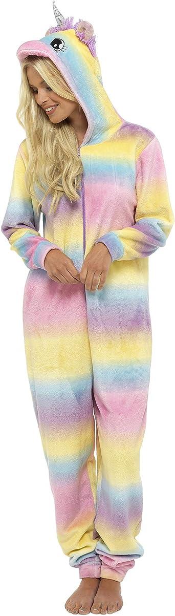 TALLA L. Foxbury - Pijama de una Pieza - para Mujer
