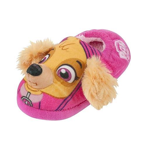 Patrulla Canina - Pantuflas/Zapatillas Estar por casa Modelo Skye en 3D para niños y