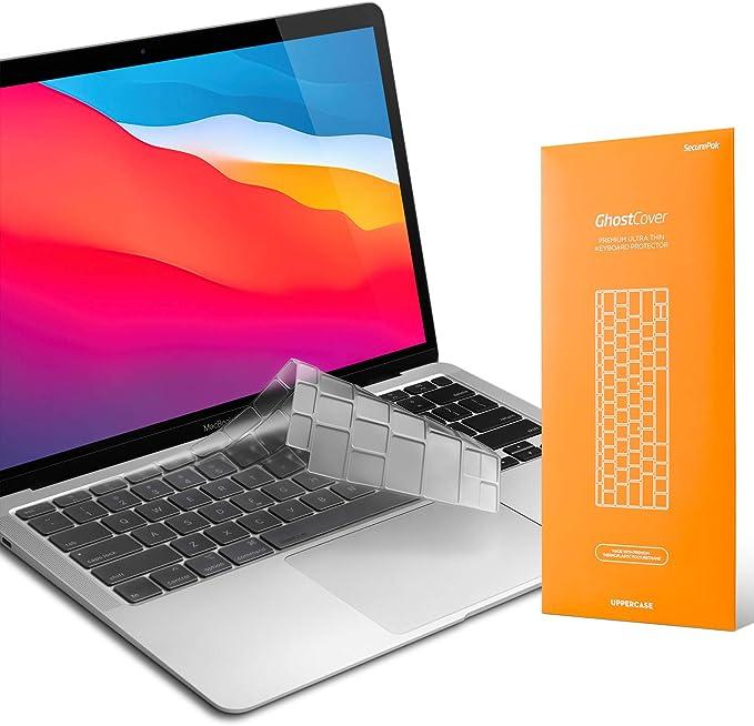 Mehrfarbig f/ür MacBook Air 13-Pro 2008+ langlebige Tastaturabdeckung abwaschbar KB Covers Shortcut-Abbildungen Schweizer Layout