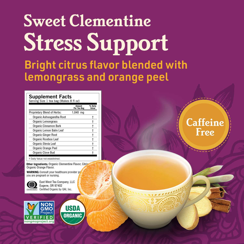 Yogi Tea - Stress Relief and Herbal Tea Variety Pack Sampler - 6 Pack