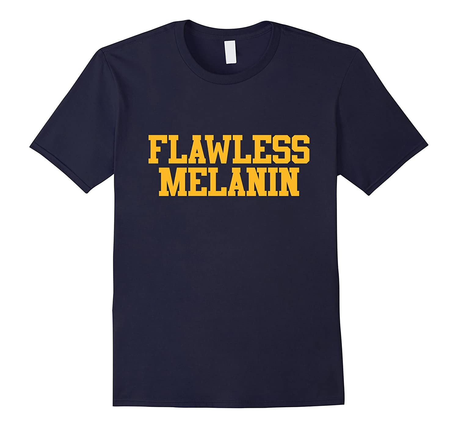Black Pride Flawless Melanin T-Shirt-CD