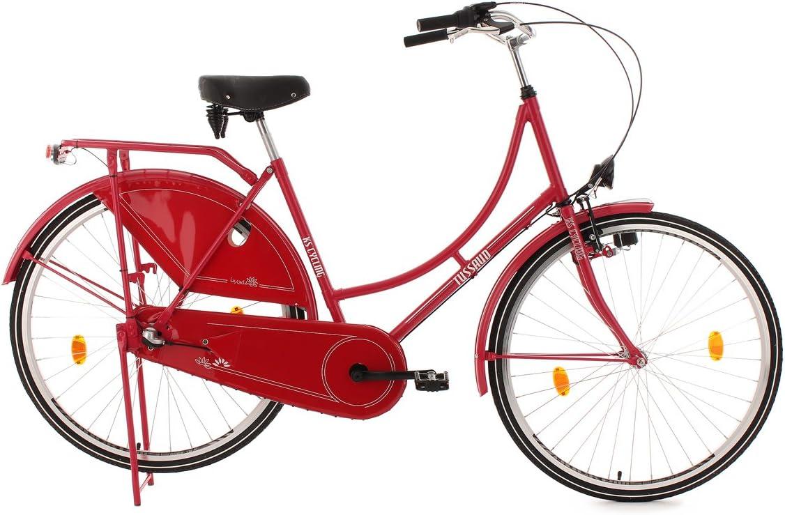 KS Cycling Hollandrad 3-marcha - Bicicleta de paseo, talla 28 Zoll: Amazon.es: Deportes y aire libre