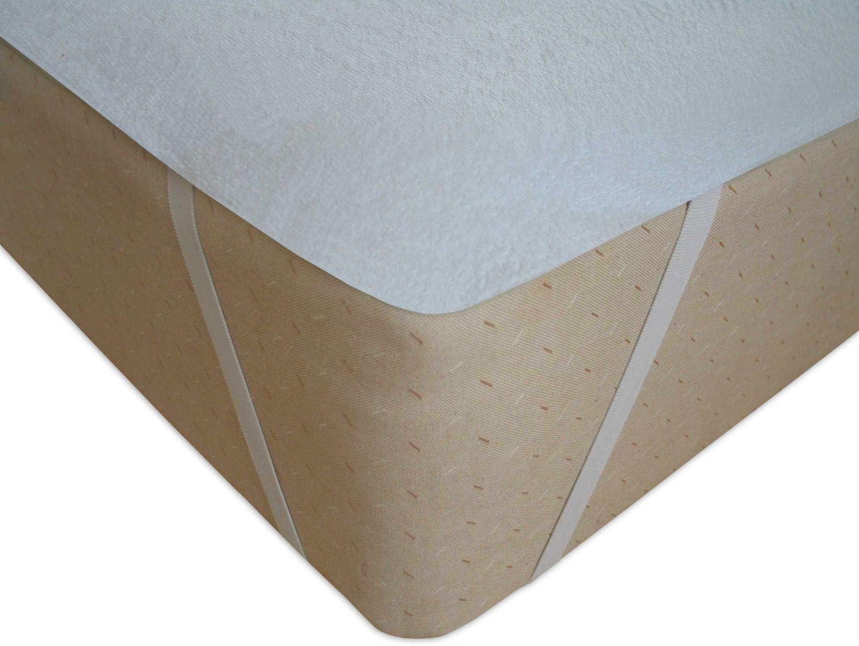 40x90 cm MODHAUS Prot/ège Matelas Protection Coussin Diff/érentes Tailles Respirant Wei/ß
