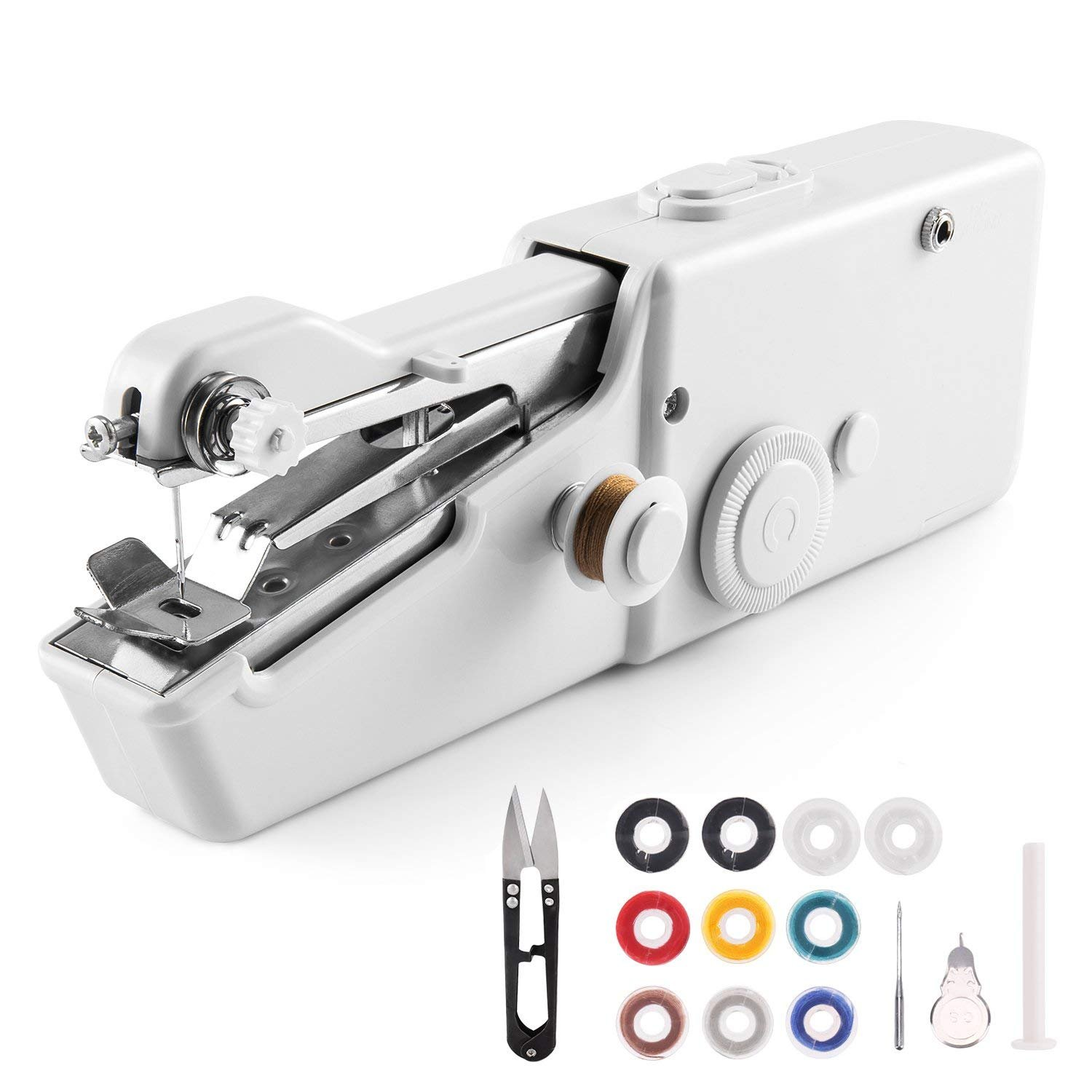 Best Rated In Sewing Machines Helpful Customer Reviews Kenmore Model 12 Machine Threading Diagram Handheld Mini Cordless Electric Quick Handy Stitch For Fabric