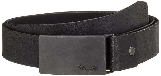 85460a79d6da Wrangler - Ceinture - Homme - Noir (Black) - FR  85 cm (Taille fabricant  85)   Amazon.fr  Vêtements et accessoires