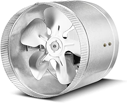 """4/"""" Inline Duct Booster Fan Ventilation Extractor Exhaust Air Cooling Vent Blower"""