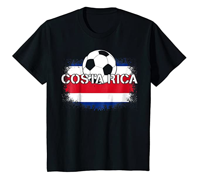 Amazon.com: Camiseta Futbol Costa Rica - Costa Rican Soccer T-Shirt: Clothing