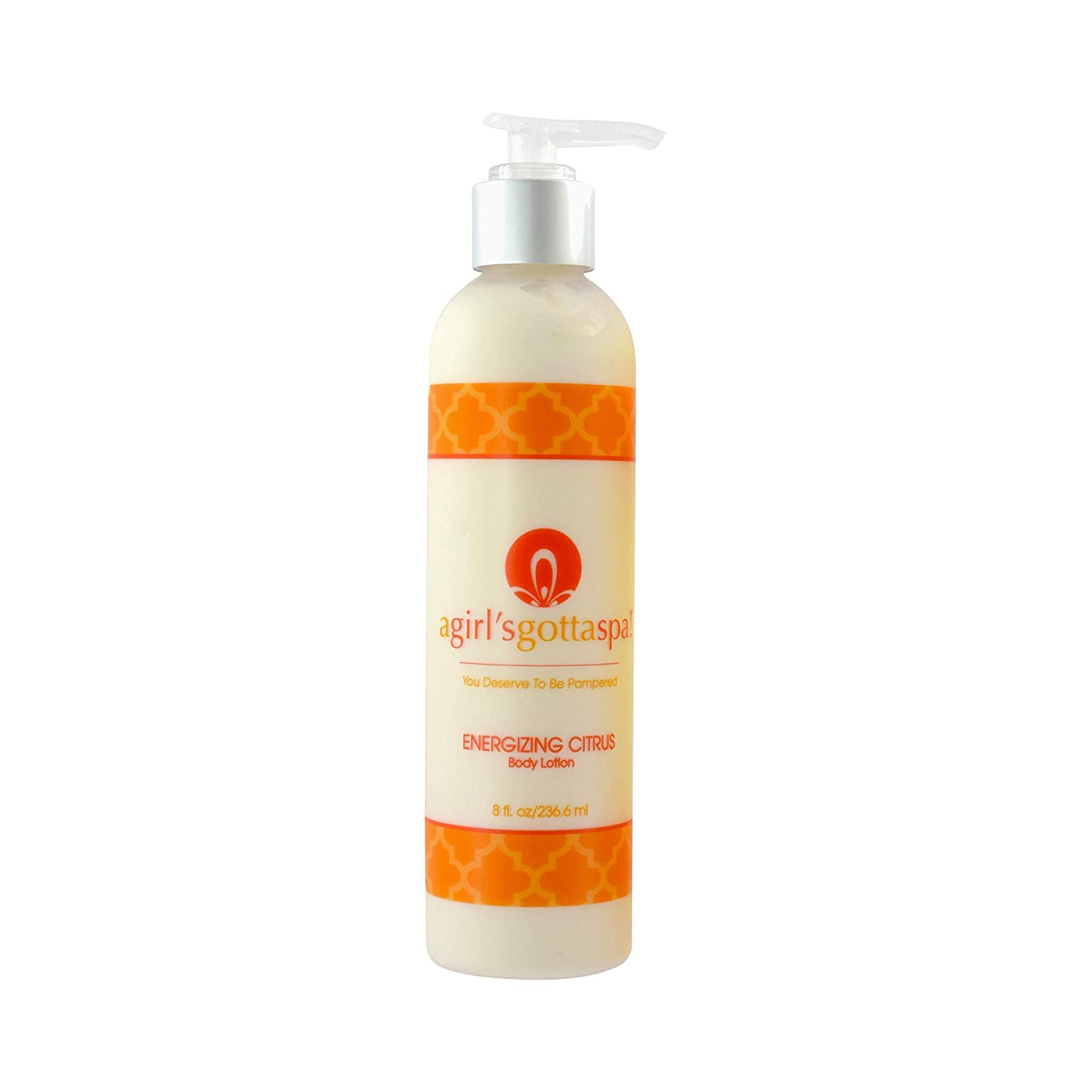 The A Girl's Gotta Spa! Energizing Citrus Body Lotion travel product recommended by Shannon Smyth on Pretty Progressive.