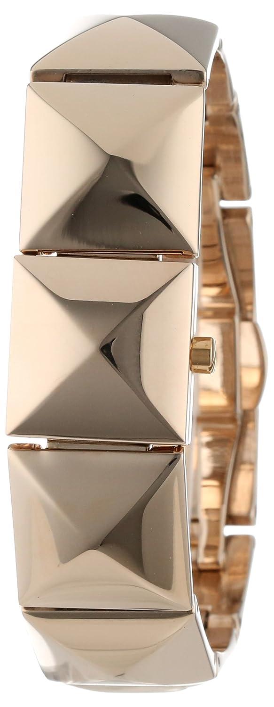 Vince Camuto Damen Quarzuhr mit Gold Zifferblatt Analog-Anzeige und Gold Armband VC-5058chgb