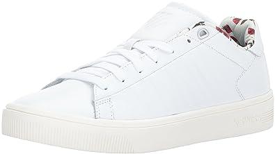 K-Swiss Women's Court Frasco Liberty Sneaker, White/Marshmallow, ...