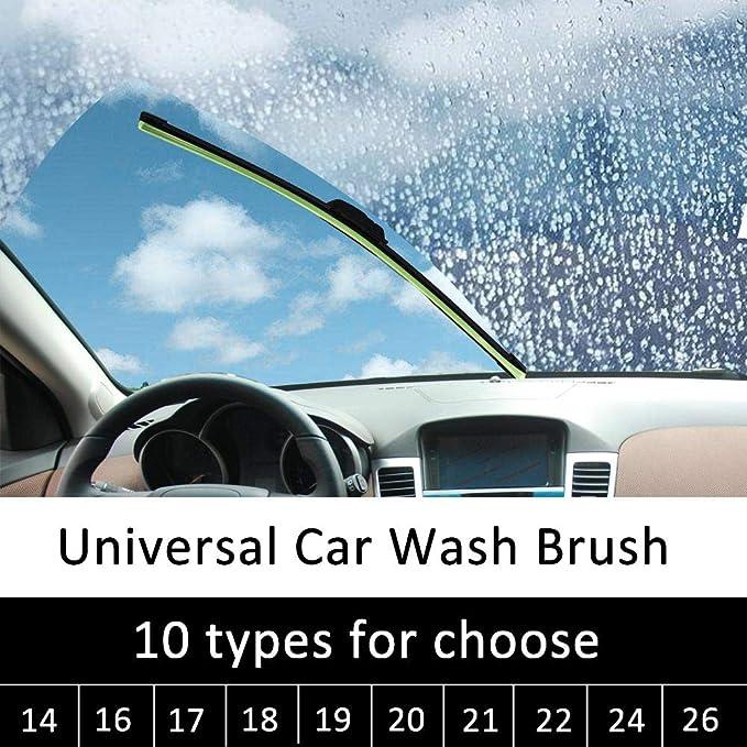 kingpo Limpiaparabrisas para Automóviles Automóviles Deshuesadoras Deshuesadas Universal: Amazon.es: Hogar