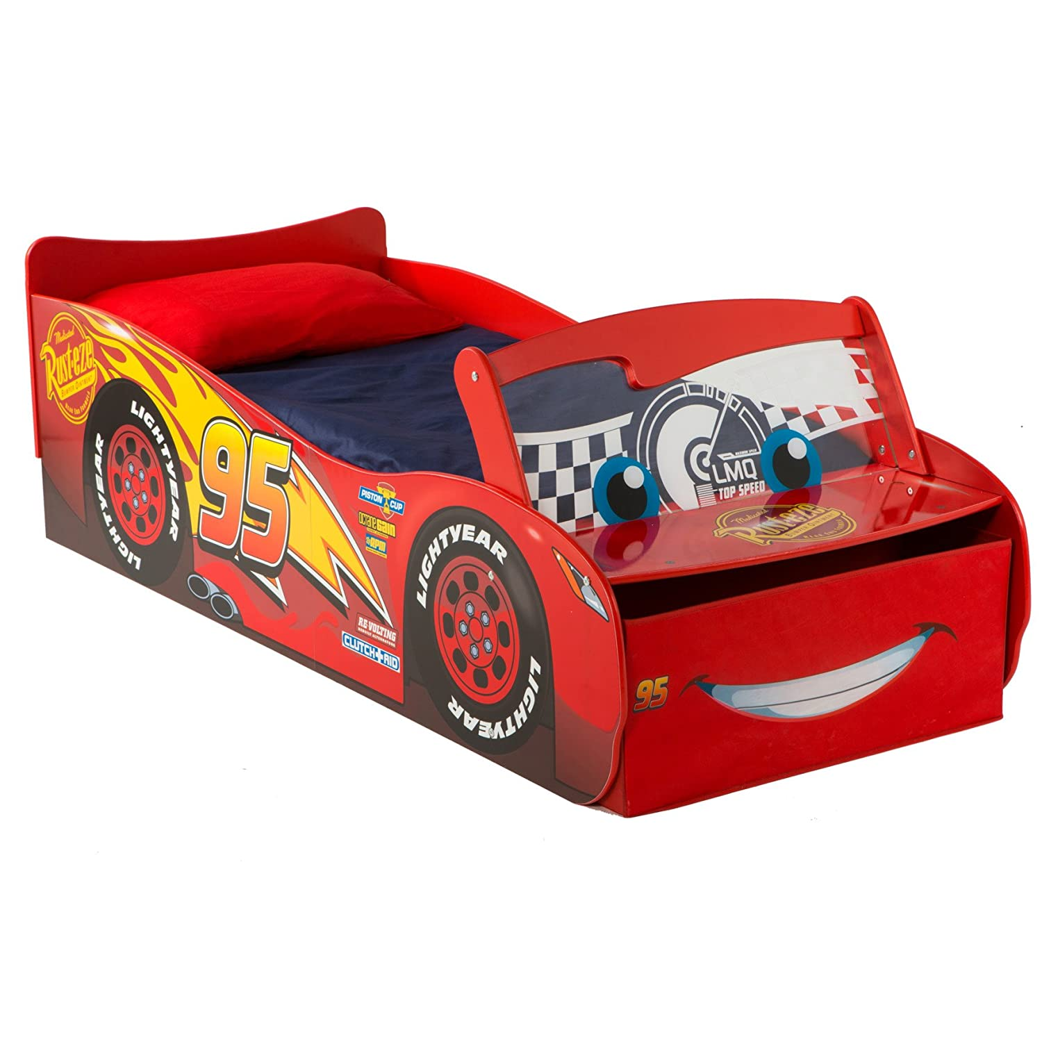 newest 4f891 c513f Disney Cars 3 Lightning McQueen Toddler Bed by HelloHome