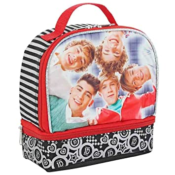 One Direction Dual Compartment Insulated Lunchbox  sc 1 st  Amazon.com & Amazon.com: One Direction Dual Compartment Insulated Lunchbox ... Aboutintivar.Com