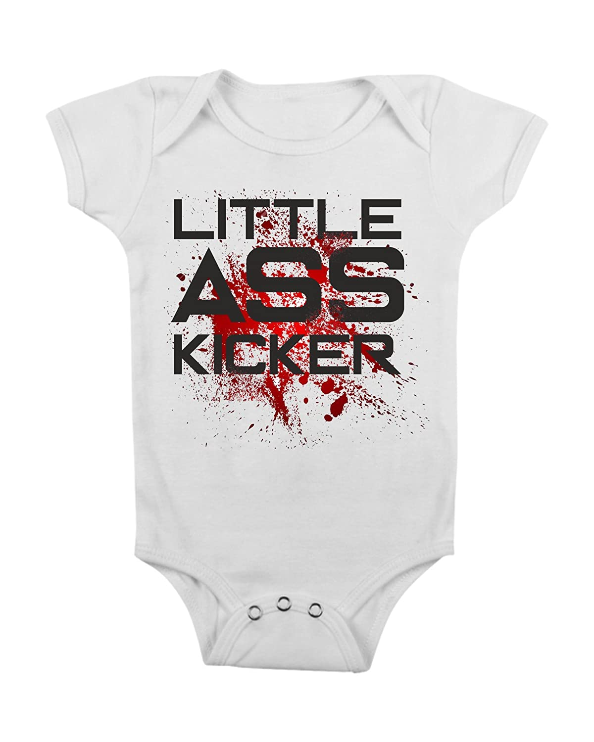 Body da Neonato The Little Ass Kicker - Walking - da 3 a 24 Mesi by tshirteria t-shirteria