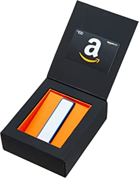 $100 Amazon Gift Card with 2200mAh USB Charger