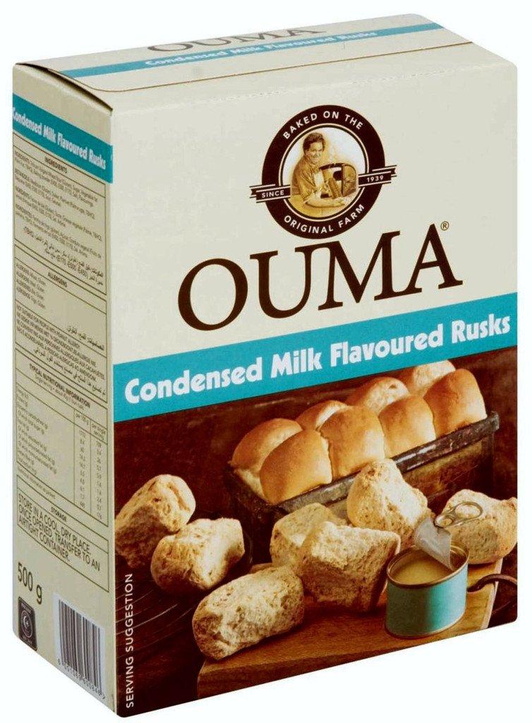Ouma Condensed Milk Rusks - 500g Nola