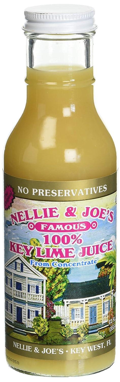 Nellie and Joe's 100% Key Lime Juice, 12oz Glass
