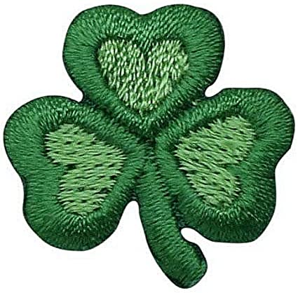 Amazon Com 1 Small Irish Shamrock Clover Leaf Trefoil Iron