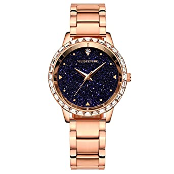 pretty nice 4d1b6 b943b 腕時計 レディース ファッション ブランド ウオッチ 人気 ダイヤモンド 防水 スタンダード 星空文字盤 プレゼント母の日 誕生日