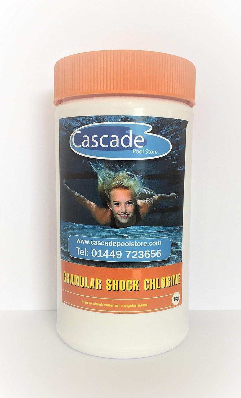 Cascade Pools SWIMMING POOL & SPA CHEMICAL - 1KG SHOCK CHLORINE GRANULES