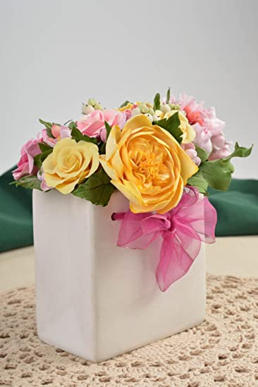 Deko Ideen Haus Handmade Kunstliche Blumen Deko Elemente