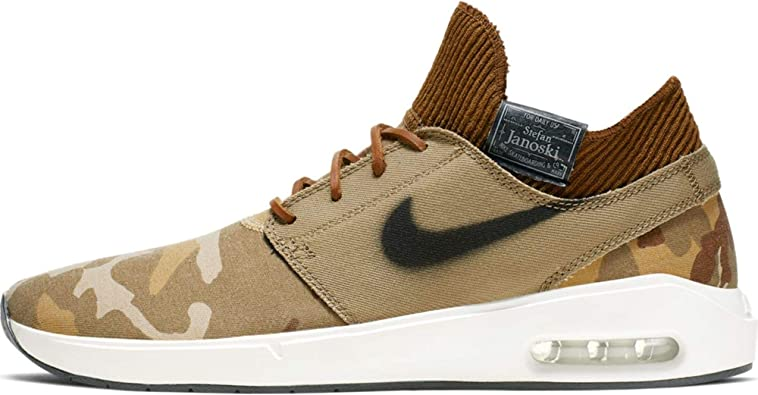 creencia Campanilla bañera  Amazon.com | Nike Sb Air Max Janoski 2 PRM Mens At5878-203,  Iguana/Black-cargo Khaki, 8 | Shoes