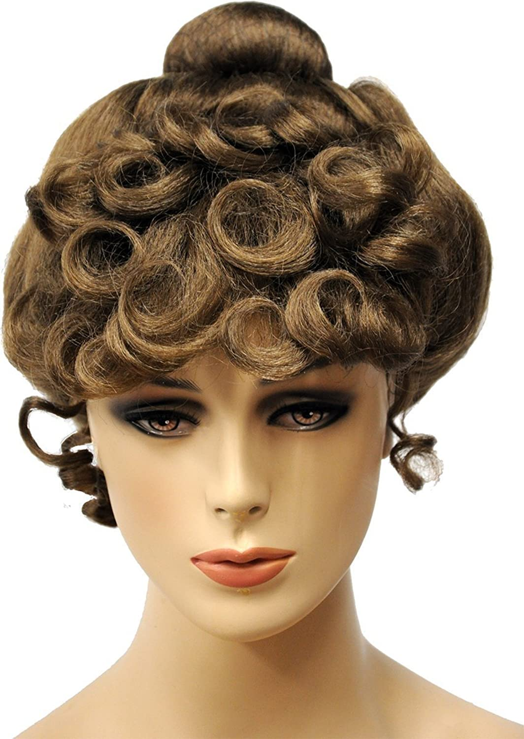 Vintage Hair Accessories: Combs, Headbands, Flowers, Scarf, Wigs Gibson Girl Wig $27.95 AT vintagedancer.com