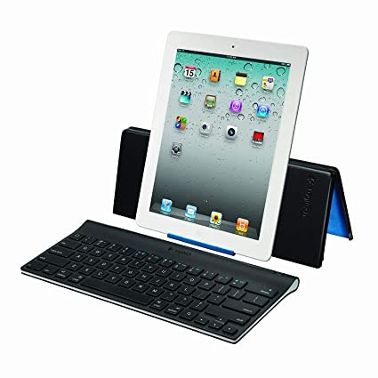 e4ca82834de Image Unavailable. Image not available for. Color: Logitech Keyboard and Stand  Combo for iPad ...