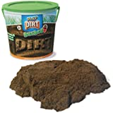 Play Dirt Bucket - Unique Play Dirt for Burying and Digging Fun - Includes 1.4kg of Dirt