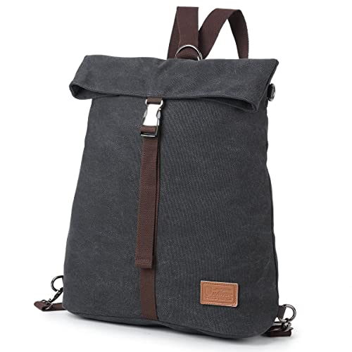 880afe0c46 Amazon.com  Travistar Women Canvas Rucksack Anti Theft Backpack Purse for  School Travel Daypack  Shoes