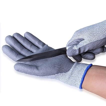 Maxfresh Pu Coated Cut Resistant Gloves Non Slip Machine