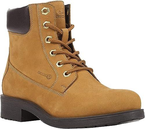 esfera Universidad desconocido  Geox RAWELLE Women's Lace-Up Ankle Boots: Amazon.de: Schuhe & Handtaschen