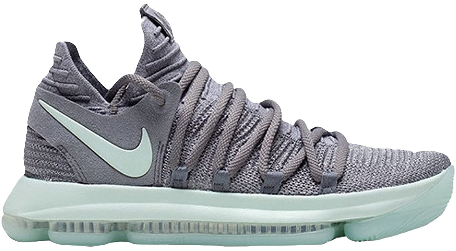 Amazon.com | Men's Nike Zoom KD X 10 Basketball Shoes Cool Grey 897815-002  (8.5) | Basketball