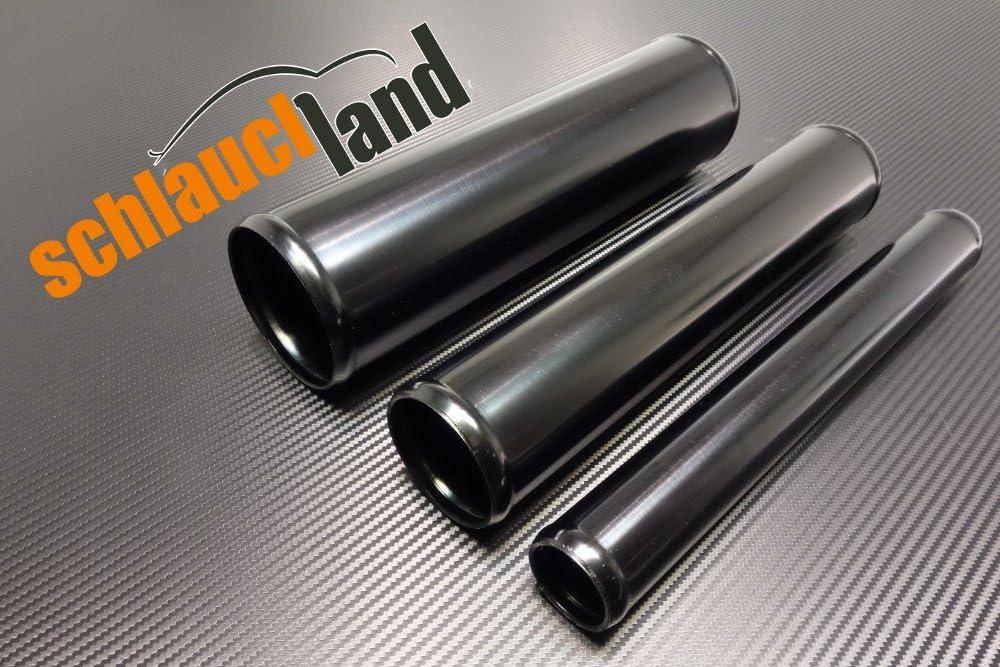 Schlauchland 30cm Alu-Rohr AD 54mm SCHWARZ ***** auch in BLAU oder ROT ***Alurohr Aluminiumrohr Aluminum Pipe Turborohr Ladeluftk/ühler Turbo