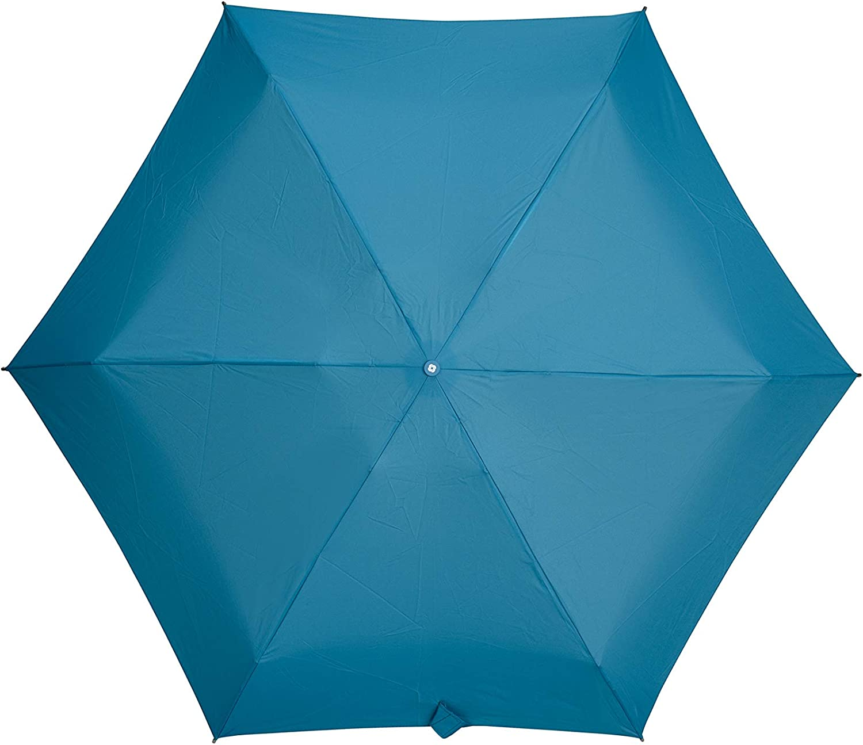 Samsonite Minipli Colori S Parapluie Pliant Manuel 5 Sections Bleu Sapphire Blue Diam/ètre: 87 cm