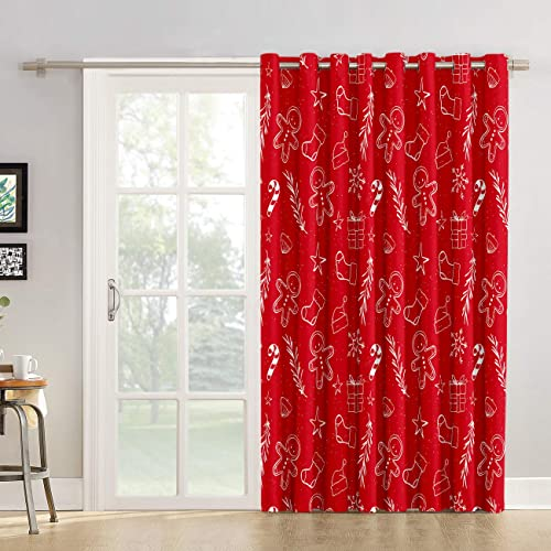 Room Darkening Curtain 96 inches Length Window Treatment Blackout Drape - the best window curtain panel for the money