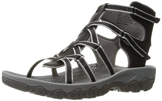 Bear trap sandals black