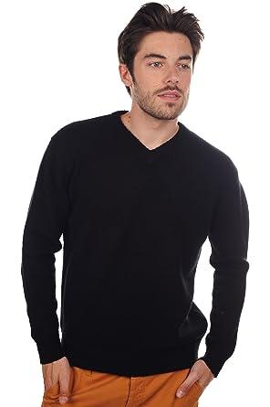 97929266e6b6 Mahogany Pull Cachemire Homme col V 8 Fils  Amazon.fr  Vêtements et  accessoires