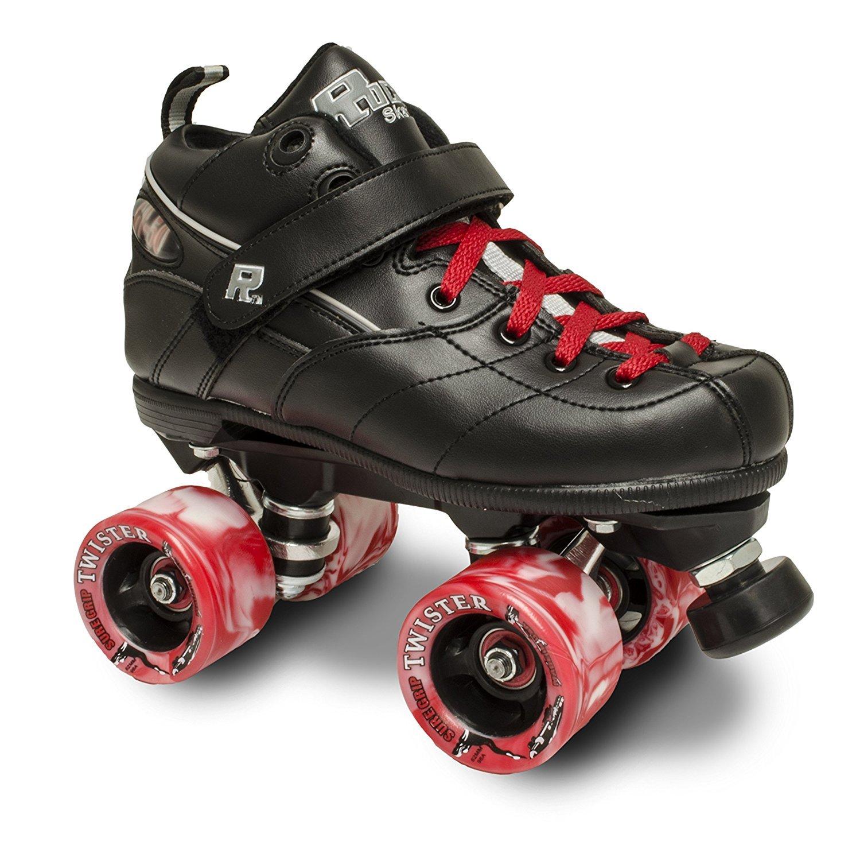 物品 Rock gt50 TwisterローラースケートW レッドツイスターとレッドレース B01N686NFK Womens Mens 店舗 8 7