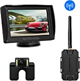 auto vox car wireless rear view camera monitor kit amazon. Black Bedroom Furniture Sets. Home Design Ideas