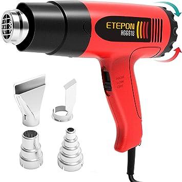 110 V//220 V 300 W Décapeur thermique électrique Ventilateur de main avec rétractable pour chauffage bricolage
