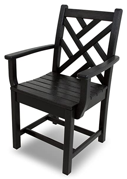 Amazon.com: polywood Chippendale Brazo Silla de comedor ...